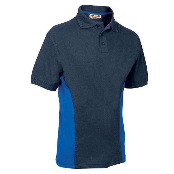 VELTUFF® 'Zone - Base' Two-Tone Polo Shirt VC20 SH0053